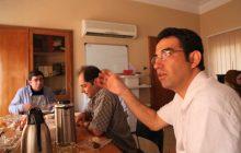 جلسهی هیأت مدیره با نمایندگان آروند برای راهاندازی سایت جدید