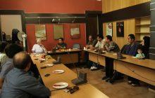 نشست هیأت انتخاب جشن چهارم با دبیر جشن آقای پوراحمد