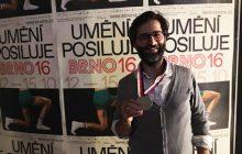«مسعود حاتمی» جایزهی ویژه هیئت داوران جشنوارهی برنو 16 را گرفت