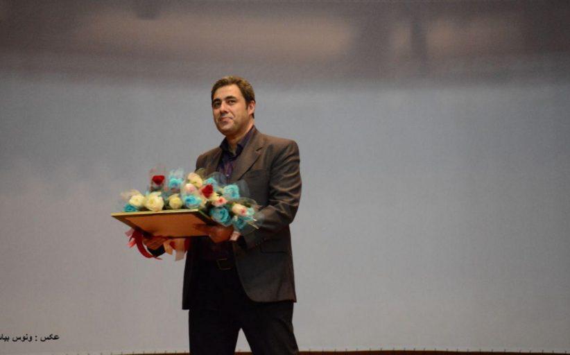 بزرگداشت آرش رصافی در اختتامیه جشنواره شبدیز