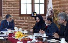 دیدار شورای مرکزی انجمن فیلم کوتاه ایران با وزیر ارشاد