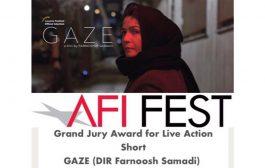 معرفی«نگاه» به آکادمی اسکار با دریافت جایزه بهترین فیلم AFI  آمریکا