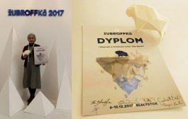 یک جایزه و یک لوح تقدیر از جشنواره زوبروفکا برای